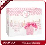 Le cadeau de papier qualifié de 2017 de cadeau sacs à provisions met en sac des sacs de cadeau de bébé