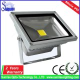 알루미늄 AC85-265V는 주물 20W LED 정원 투광램프를 정지한다