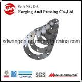 ANSI DINの炭素鋼はスリップオンの管のフランジを造った