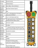De vitesse à télécommande d'élévateur de Telecrane à télécommande par radio sans fil industriel et simple pour la grue