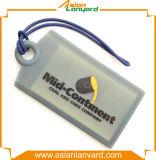 Étiquette de bagages chaude de PVC de modèle de propriétaire de vente