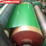 中国製Ibrの屋根ふきのためのPrepainted電流を通された鋼鉄コイル