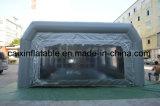 Cabina de aerosol inflable móvil, cabina inflable de la pintura