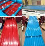 mattonelle coprenti galvanizzate rivestite colorate strati della lamiera di acciai di 0.13mm-1.5mm Ibr