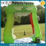 Arco verde inflável personalizado de Halloween para a decoração de Halloween