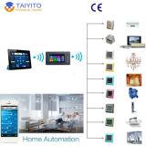 Commutateurs intelligents de domotique de Zigbee Iot de panneau de contact de produits de régulateur d'éclairage intelligent sans fil de mur