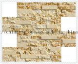 Плитка солнечного бежевого мраморный ржавого мрамора отполированная и разделенная