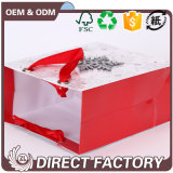 Bolso de papel durable del regalo de la Navidad del diseño colorido caliente de la venta de la fábrica