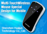 3D elegante Touch Multi-Finger Bluetooh Mouse para Mobile