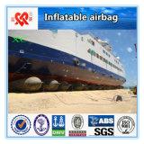 Bolsa a ar de borracha inflável marinha da aterragem do navio