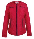 여자의 디자인 면에 의하여 덧대지는 봄 재킷