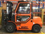 Empilhadeira Diesel 3 Tonnen-Dieselgabelstapler mit Fahrerhaus