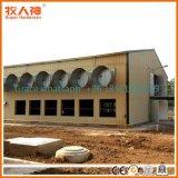 Het geprefabriceerde Huis van het Gevogelte van Fabriek met de Landbouw van Apparatuur voor Één Einde