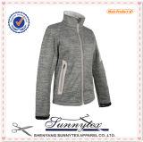 Bolsillo de la capa de la chaqueta del invierno del Mens y collar del polo