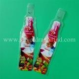 習慣は50ml、100ml、150ml、200ml、250ml、300ml、350ml、400ml、450ml&500mlのためのプラスチック飲み物袋を印刷した