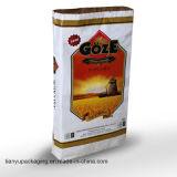 Bolso del pagador del papel de Kraft 3 para leche en polvo del trigo del azúcar de la arena del arroz de la harina