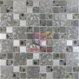 Steel di acciaio inossidabile con Pattern Mix Crystal Glass Mosaic (CFM764)