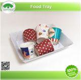 Happypack Papiernahrungsmitteltellersegment, Verpacken der Lebensmittel