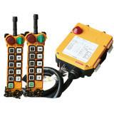 10 Tasten imprägniern 2 Geschwindigkeits-industrielle Radiofernsteuerungs für Pfosten-Kranbalken-Kräne F24-10d