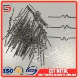 高い純度1.0mmのタングステンのヒーターの要素ワイヤー