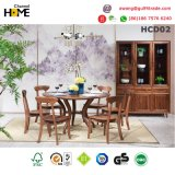 Tableau dinant en bois moderne de salle à manger (HCD01)