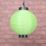 Lampada di giardinaggio esterna solare della candela di qualità piacevole LED