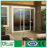Nueva puerta de vidrio de desplazamiento del diseño de Pnoc080307ls con buen precio