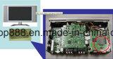 Garniture thermique de feuille en caoutchouc de silicones de réémetteur isofréquence de conductivité élevée pour la carte mère