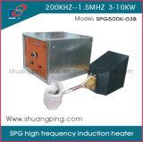 3kw het Verwarmen van de Inductie van de Hoge Frequentie van 800kHz Machine Spg500K-03b