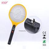 LED 빛을%s 가진 재충전용 전기 모기 Swatter