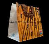 Saco tecido PP feito sob encomenda da laminação da propaganda do logotipo para a compra