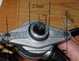 démarreur moteur électrique de 50CC Gy6 pour le scooter Parts#65707 du moteur ATV/Quads/