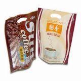 Sac de café avec l'impression vive et sans valve