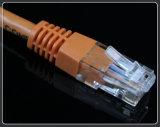 Cuerda de corrección de UTP Cat5e CAT6