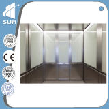Golden Color Etching Mirror Stainless의 전송자 Elevator