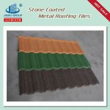 Azulejos revestidos clásicos de los materiales del azulejo/de material para techos/de azotea del metal de la piedra