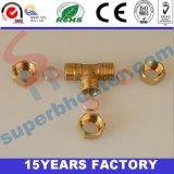 黄銅の銅のための等しいティーのコネクターの付属品