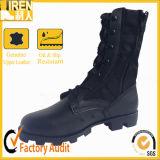 Черные неподдельные ботинки кожи дешево итальянские воинские