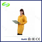 Capa de la seguridad del Workwear polivinílica/algodón sobre la capa del laboratorio de la tecnología del ESD de la capa