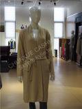 La Chine Uxury doux superbe et robe longue pure chaude de cachemire du sommeil 100%