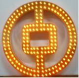 Edelstahl gelochtes LED-Kanal-Zeichen (FLC-07)