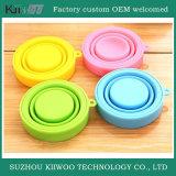 Pièces spéciales en caoutchouc de silicones de couleur faite sur commande