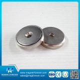 De sterke Magnetische Zeldzame aarde van de Magneet om Magneet van de Pot van de Magneet van het Neodymium de Ondiepe