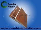 Scheda/strato di legno piacevoli della gomma piuma del PVC di rivestimento per la mobilia della Camera