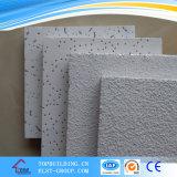 Panneau minéral de plafond de fibre de bord tégulaire acoustique