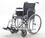 Economía, manual de acero, sillón de ruedas, plegamiento y ligero, (YJ-005M)
