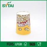 Чашка попкорна изготовленный на заказ конструкции логоса Biodegradable бумажная