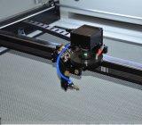 Cortadora del laser del CO2 con la cámara para las marcas registradas del corte