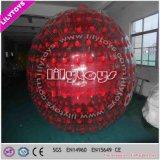 حمراء قابل للنفخ [زورب] مصدّ كرة, قابل للنفخ [زورب] كرة لأنّ ترقية