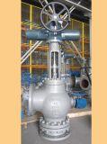 Válvulas de globo Wcb - Válvula de suspensão de padrão de ângulo